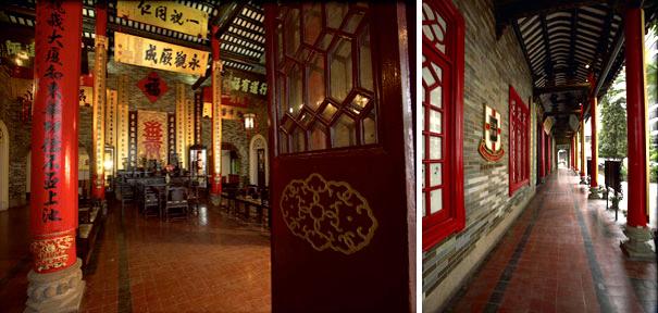 The main hall and veranda of Tung Wah Museum
