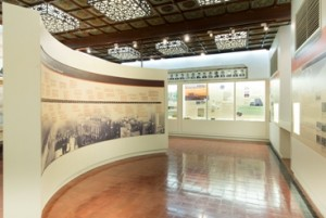 """""""Performing good deeds with others: the philanthropic vision of the TWGHs"""" at Exhibition Room I of Tung Wah Museum"""