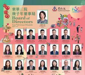 Photo 1: Tung Wah Group of Hospitals Board of Directors 2020/2021