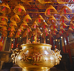 Man Mo Temple, providing ritualistic service for the citizens over the past centuries, is well-received by the society.