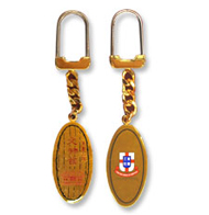 Tung Wah Museum souvenir - Oval Keychain