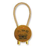 東華三院文物館紀念品 ─ 圓型匙扣