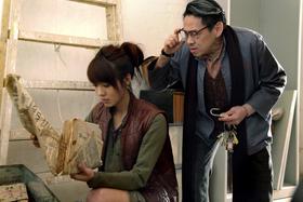 泰迪罗宾和官恩娜在《东风破》里演活角色,两人有很多对手戏。