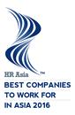 2015年香港亞洲最理想工作公司大獎