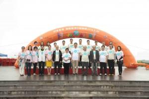 博愛醫院主席譚姜美珠女士、董事局成員聯同主禮嘉賓及主禮團嘉賓一起合照。