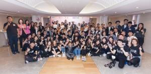 東華三院屬下社會企業Image Pro(映誌高)舉辦全港首個「愛.共融」少數族裔集體婚禮暨畢業作品展。