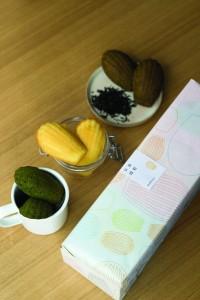 全新產品「焙茶、抹茶、柚子手工貝殼蛋糕」的三重奏伴手禮。