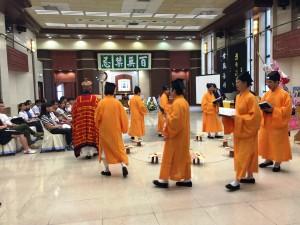 是次活動特別請來本港著名道教團體蓬瀛仙館,示範及講解喪禮儀式中「破地獄」背後蘊含的宗教意義。