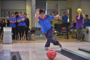 圖四為參賽隊伍積極投入參加比賽,望得佳績。
