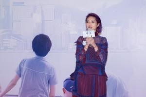 香港亞洲電影節總監麥聖希先生致辭及藝人楊千嬅小姐分享對生死的看法。