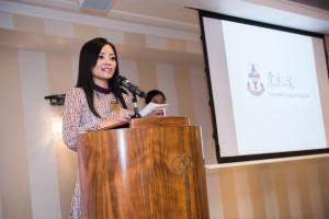 東華三院馬陳家歡主席在該會舉辦的晚宴上預祝學生大使此行能拓展視野及個人發展,並取得豐碩成果。