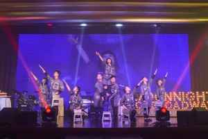 图七为「Beyond the Line青少年自家创作音乐剧」为现场观众带来精彩的表演。