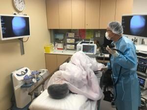 圖七:東華三院內視鏡中心為市民提供大腸癌篩查服務,喚起市民對大腸癌的關注,推廣「預防勝於治療」的概念。