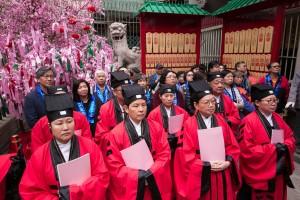 善信踴躍參與文武廟建成170周年讚星法會