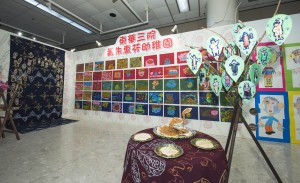 作品展展出的藝術作品以童心看世界,充分體現幼兒的想像力及創造力。