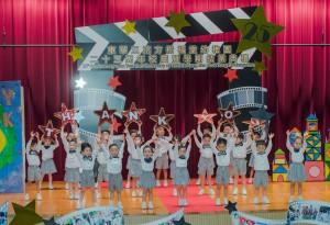 東華三院方樹福堂幼稚園學生作精彩演出。