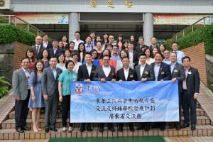 交流團成員探訪廣東省多所小學,進行多元化的交流活動。