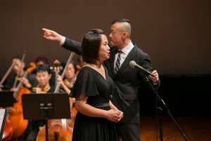 表演嘉賓著名女高音鮑鳳媺女士