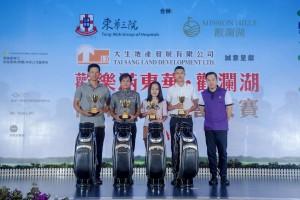 李鋈麟博士太平紳士B隊獲得「男子隊際總桿獎冠軍」。