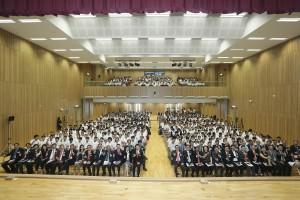 出席嘉賓與一眾學生大合照。