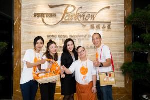 曲奇义卖在香港阳明山庄会员及住客的鼎力支持下,瞬间售罄。