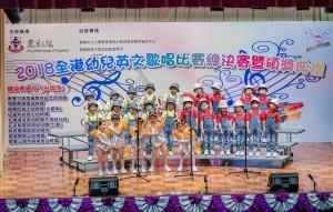 各參賽學生悉心打扮,載歌載舞,傾力演出。