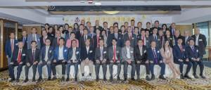東華三院顧問局成員、董事局成員、歷屆主席、總理,以及各部門主管合照。