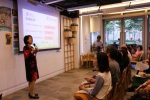 香港大學秀圃老年研究中心總監樓瑋群博士發表調查結果。