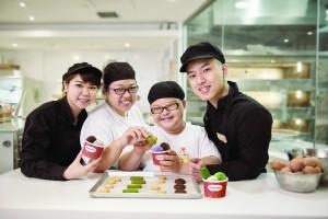 iBakery為殘疾人士提供烘焙及餐飲行業的培訓及就業機會。
