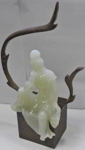 6 .觀音像雕塑