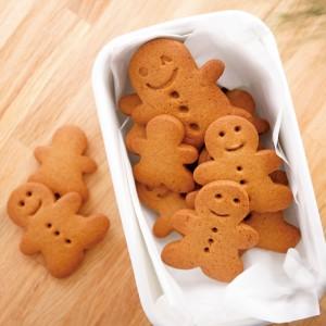 薑餅人曲奇是iBakery的聖誕招牌產品,由不同能力同事手工製作