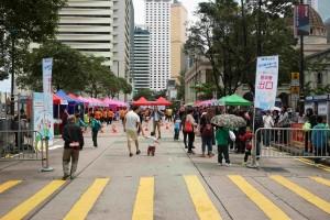 圖五: 當日並設40個主題新穎的遊藝攤位,供市民認識不同的減壓方法。