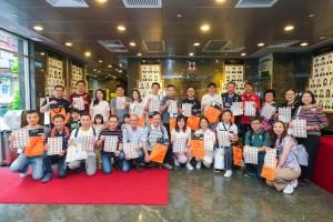 圖一為東華三院主席蔡榮星博士(後排左八)、董事局成員及其他義工在出發前大合照。
