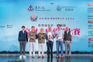圖六為獲得「男子隊際淨桿獎冠軍」的開心隊。