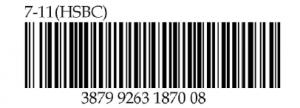 7-11 Barcode