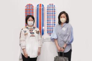 圖三為東華三院文頴怡主席(左)及全力支持的香港蘇富比代表蘇富比亞洲區主席黃林詩韻女士合照。