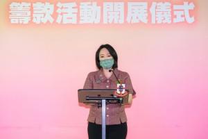 圖二為東華三院主席文頴怡小姐於開展儀式致辭。