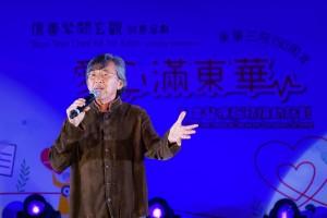 圖三至圖六為「愛心之星」林子祥先生、「愛心大使」林欣彤小姐、吳浩康先生及菊梓喬以視像形式傾力獻唱,以歌傳愛,呼籲嘉賓踴躍支持計劃。