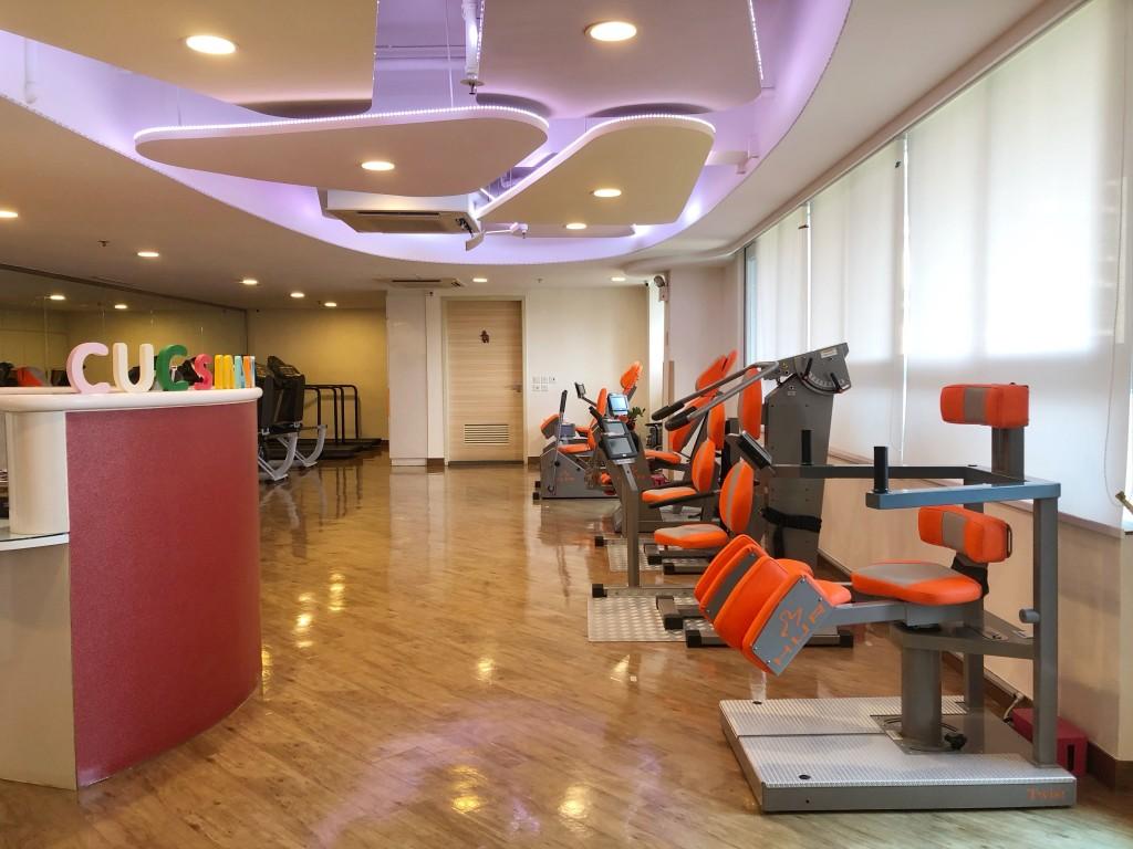 圖四:陳婉珍躍動適體及健康中心是全港首間引入芬蘭HUR器材的健體中心。